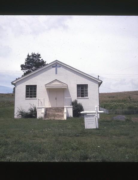 1974 Mulberry Gap Church Winnie