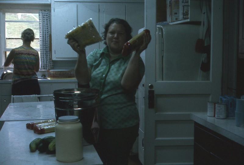 1974 Donna Kroeker Camp Kitchen WVS