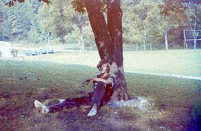 july 1974- ''GREG RASNIC  AFTER A WEEK OF JUNIOR CAMP''