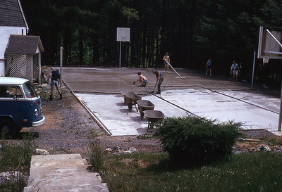 june 1975-''PAVING BASKETBALL COURT 2''