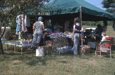 june 1975-''YARD SALE ''