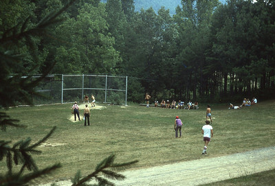 august 1975-''SUNDAY BALLGAME AT COVENANT MOUNTAIN MISSION''