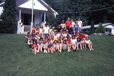 1980 5 - Junior Campers and Counselors