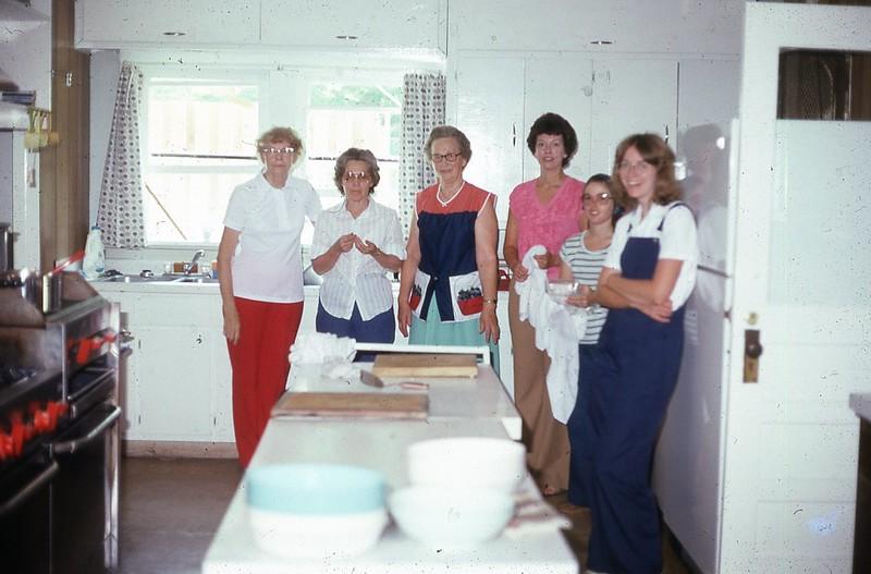 1980 Camp Kitchen