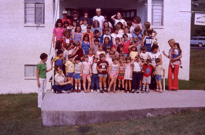 june 1984-''CHILDREN AT WALLENS CREEK''