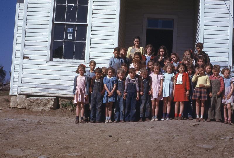 LATE 40'S-''CEDAR HILL SCHOOL'' exact date unknown