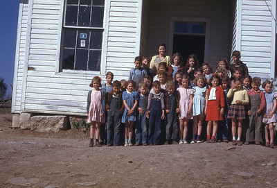LATE 40'S-''CEDAR HILL SCHOOL'' exact date unknown