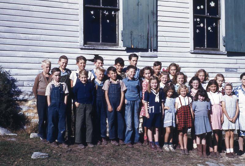 LATE 40'S-''WALNUT HILL SCHOOL'' exact date unknown