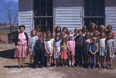 LATE 40'S-''LONG HOLLOW SCHOOL'' exact date unknown