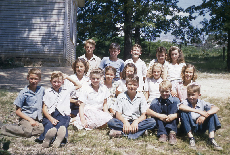 LATE 40'S-''OAK GROVE D V B S '' exact date unknown