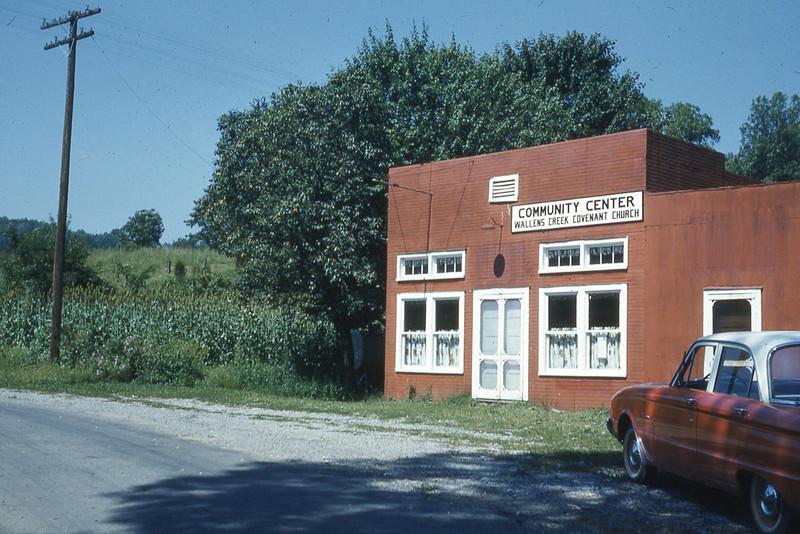 september 1962-''STICKLEYVILLE COMMUNITY CENTER''