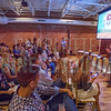 Publisher Kevin Pitts kicks off Charlotte Business Journals CMO Unplugged event at 8.2.0 Bar, AvidXchange Music Factory.
