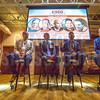 Panel discussion at Charlotte Business Journals CMO Unplugged event at 8.2.0 Bar, AvidXchange Music Factory.