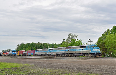 Central Maine & Quebec Farnham Yard, Quebec, June 9 2017.