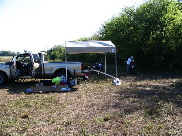 8 our campsite