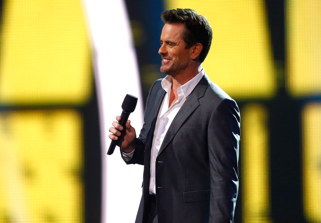 . Host Charles Esten speaks at the CMT Music Awards at Music City Center on Wednesday, June 7, 2017, in Nashville, Tenn. (Photo by Wade Payne/Invision/AP)