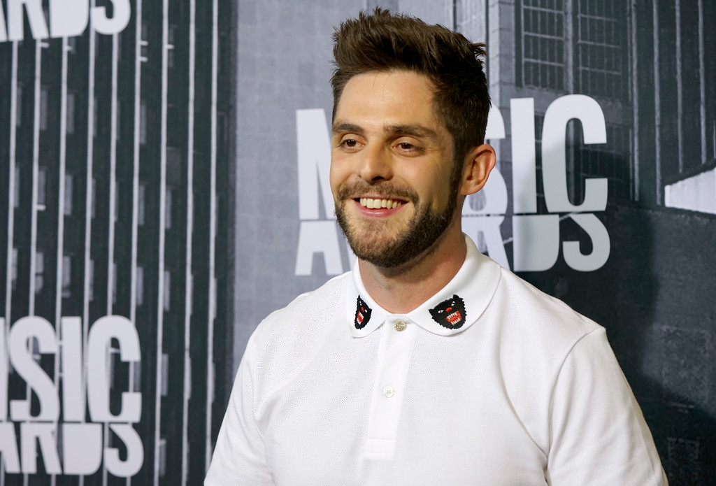 . Thomas Rhett arrives at the CMT Music Awards at Music City Center on Wednesday, June 7, 2017, in Nashville, Tenn. (Photo by Sanford Myers/Invision/AP)