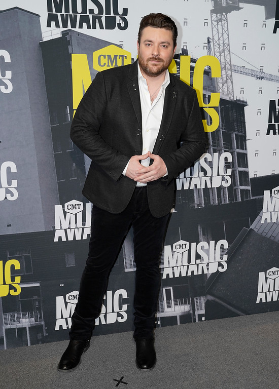 . Chris Young arrives at the CMT Music Awards at Music City Center on Wednesday, June 7, 2017, in Nashville, Tenn. (Photo by Sanford Myers/Invision/AP)