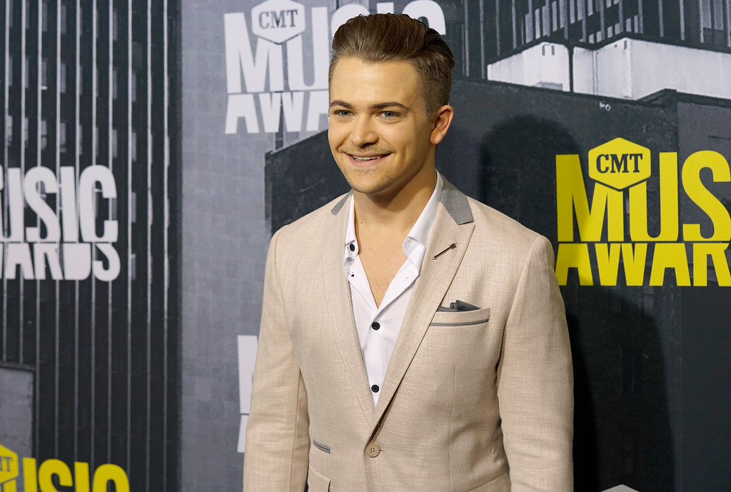 . Hunter Hayes arrives at the CMT Music Awards at Music City Center on Wednesday, June 7, 2017, in Nashville, Tenn. (Photo by Sanford Myers/Invision/AP)