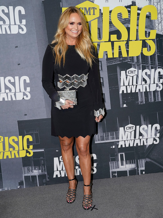 . Miranda Lambert arrives at the CMT Music Awards at Music City Center on Wednesday, June 7, 2017, in Nashville, Tenn. (Photo by Sanford Myers/Invision/AP)