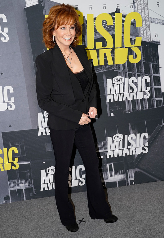 . Reba McEntire arrives at the CMT Music Awards at Music City Center on Wednesday, June 7, 2017, in Nashville, Tenn. (Photo by Sanford Myers/Invision/AP)