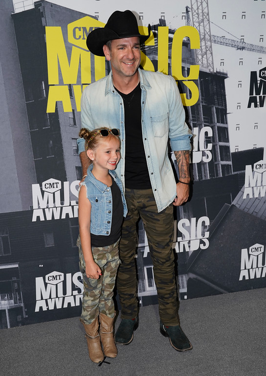 . Kinni Rose Campbell, left, and Craig Campbell arrive at the CMT Music Awards at Music City Center on Wednesday, June 7, 2017, in Nashville, Tenn. (Photo by Sanford Myers/Invision/AP)