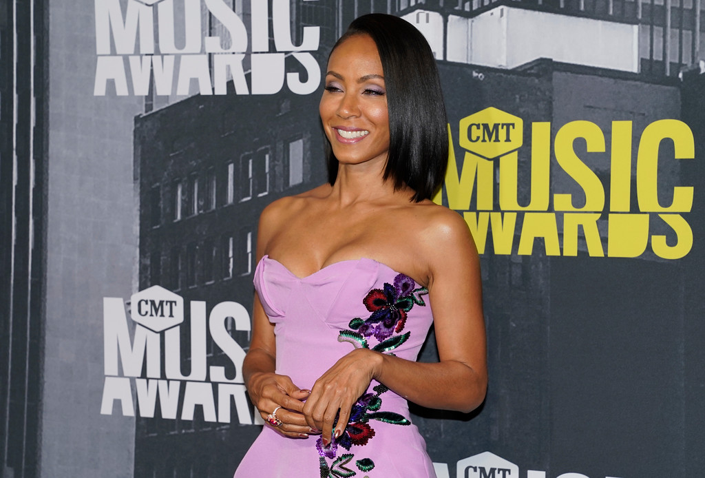 . Jada Pinkett Smith arrives at the CMT Music Awards at Music City Center on Wednesday, June 7, 2017, in Nashville, Tenn. (Photo by Sanford Myers/Invision/AP)