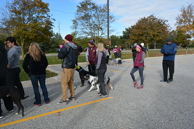 Linda Kerkau - Morning Sun  CMU Pre-Vet Club Doggie Dash 2016