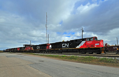 Canadian National #369, Garneau Qc