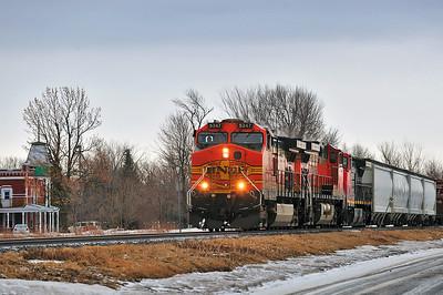 CN #529 , L'Acadie, Qc March 20 2014