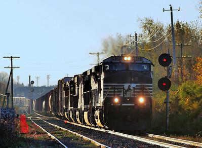 CN 529/CP/D&H 931, St-Jean, Qc 13/10/2013