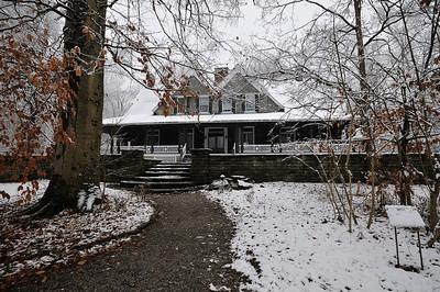 Krippendorf Lodge First Snow Stone Patio
