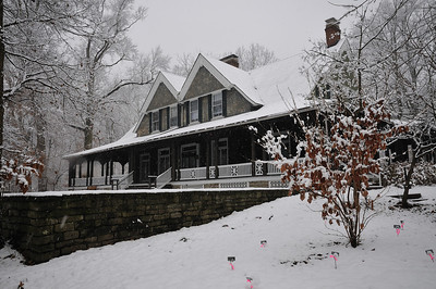 Krippendorf Lodge First Snow