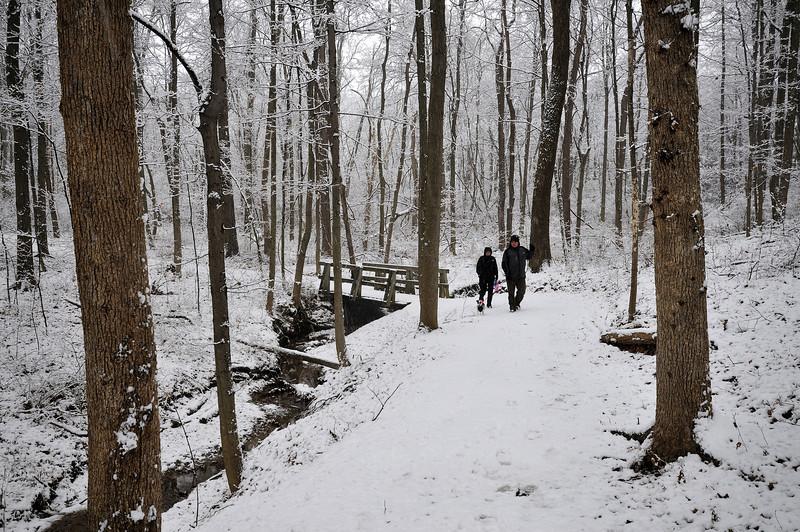 Hearty Souls Walking the trails.