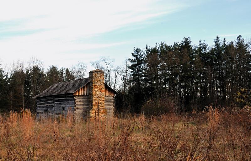 Abner Hollow Cabin Wind Break