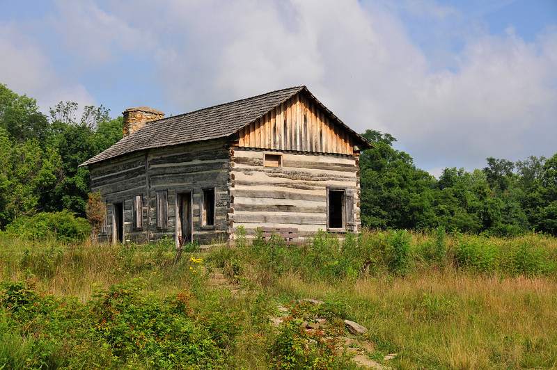 Abner Hollow Cabin Cincinnati Nature Center at Rowe Woods