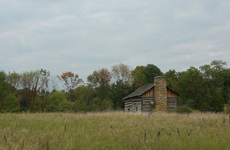 Late Summer Abner Hollow Cabin