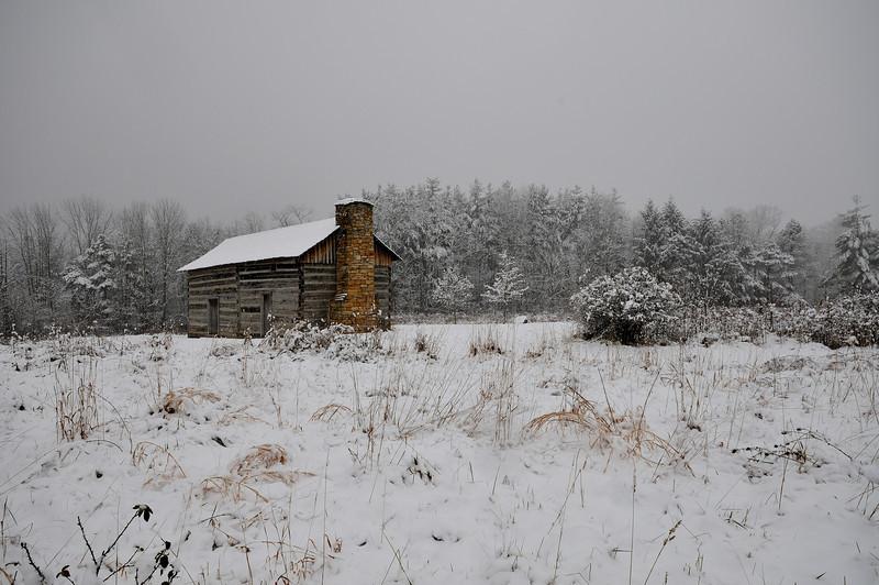 First Snow Cincinnati Nature Center at Rowe Woods 2009