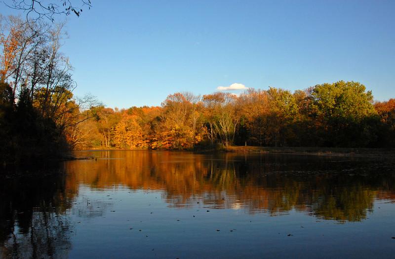 Shadow Sunset Powel Crosley Lake