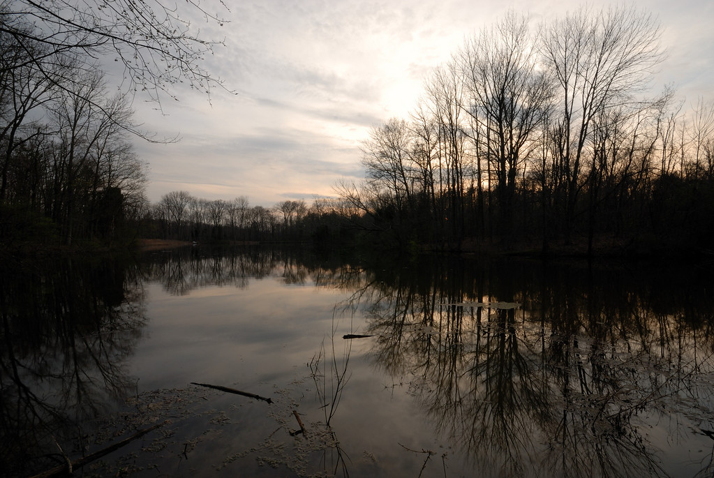 Dusk Over Powel Crosley Lake