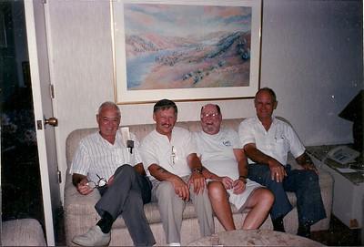 Tom Kelly, Wally Green, Bruce Downie, Bill Lawrence