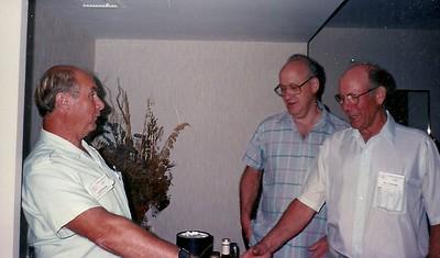 Gordon weston, ?, Moe Coulombe