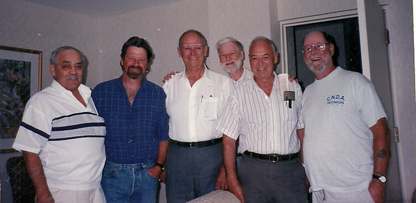 Leo Goneau, Tim Joys, Bill Lawrence, Chuck Rolfe, Tom Kelly, Bruce Downie