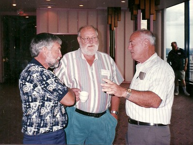 Gilles Lariviere, Doug Hughes, Tom Kelly
