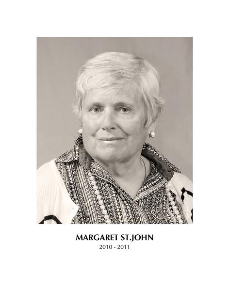 Margaret St  John