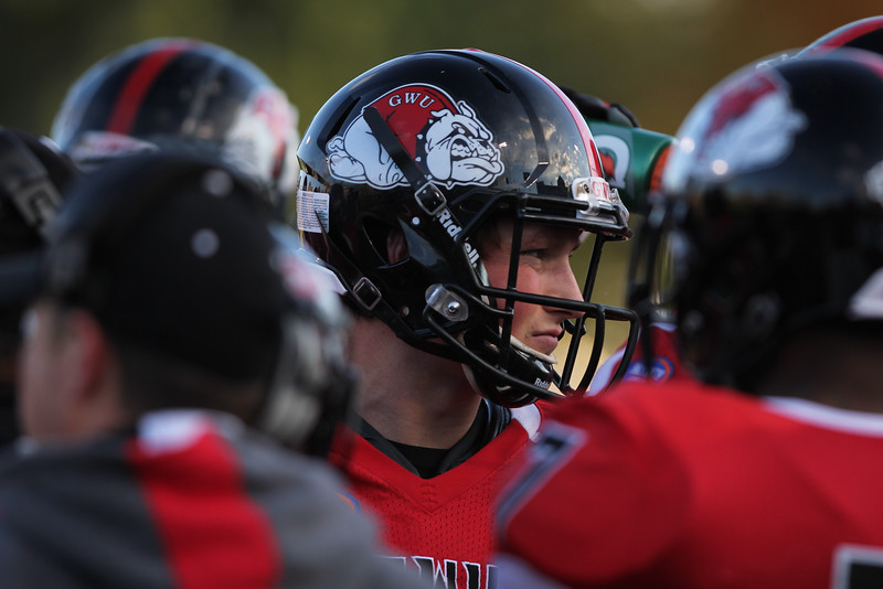 Gardner-Webb University Runnin' Bulldogs battle with Coastal Carolina University for a tough loss on Saturday, November 1st, 2014.