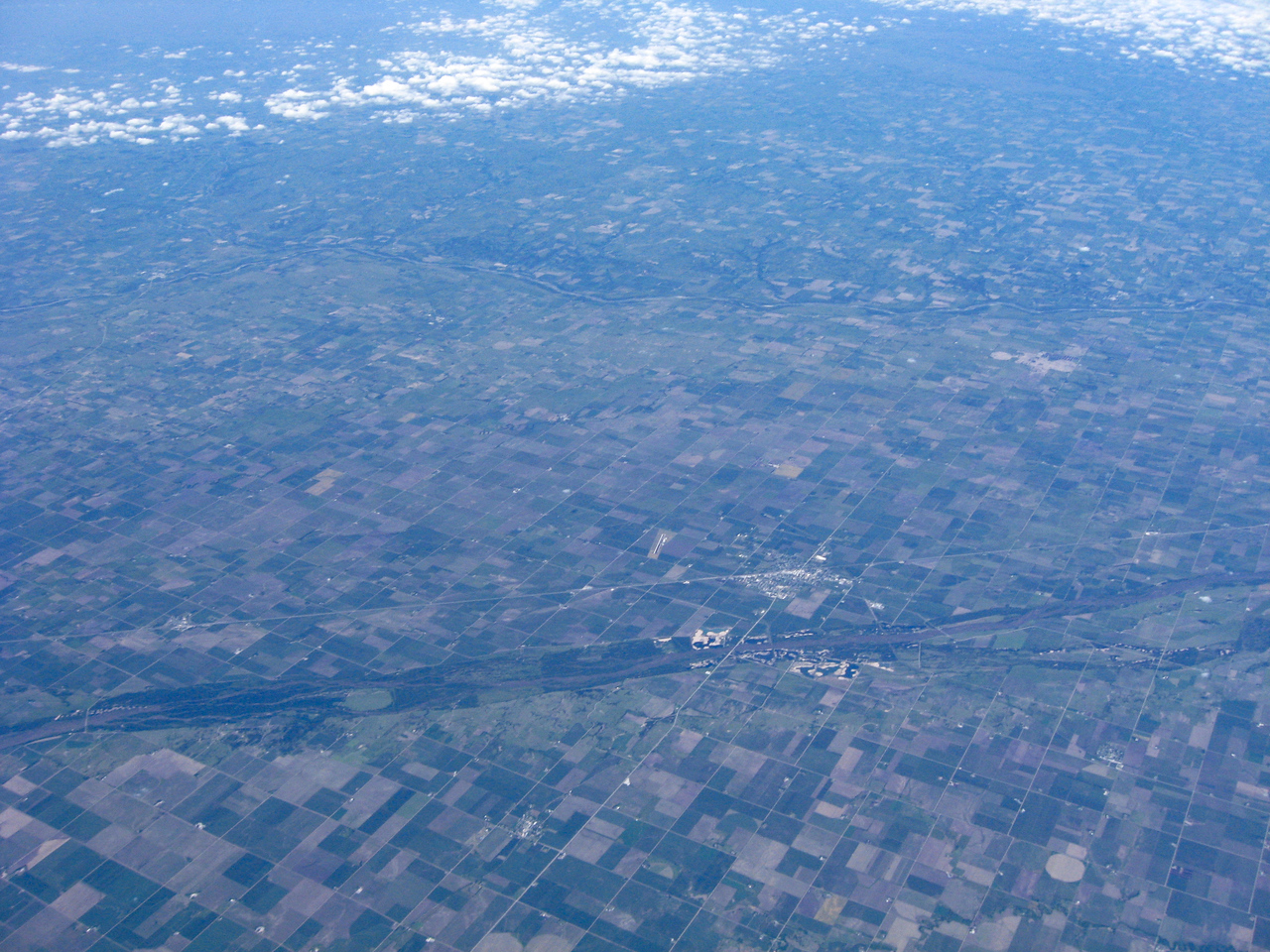 64,000 ft - Looking North-West, Central City, NE