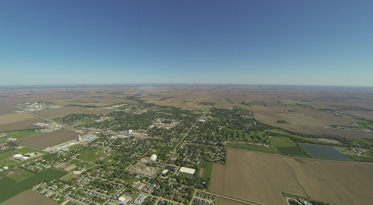 NSTAR balloon over Aurora, NE