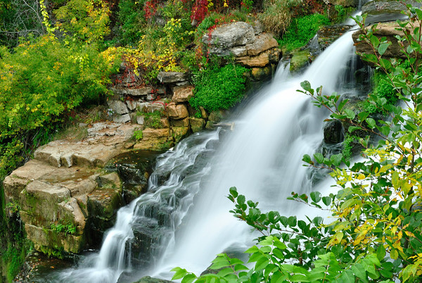Chittenango Falls in Early Autumn
