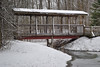 Covered bridge near Arrowhead Lodge, Oneida Shores Park